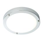 Endon Portico 54676 LED Chrome Wall/Ceiling Light